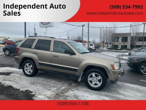 2006 Jeep Grand Cherokee for sale at Independent Auto Sales #2 in Spokane WA