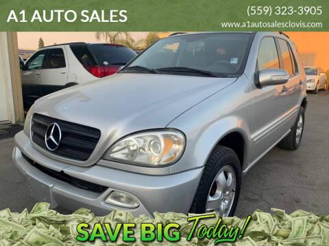 2002 Mercedes-Benz M-Class for sale at A1 AUTO SALES in Clovis CA