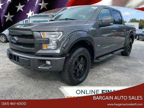2015 Ford F-150 for sale at Bargain Auto Sales in West Palm Beach FL