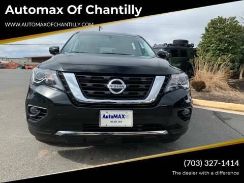 2017 Nissan Pathfinder for sale at Automax of Chantilly in Chantilly VA