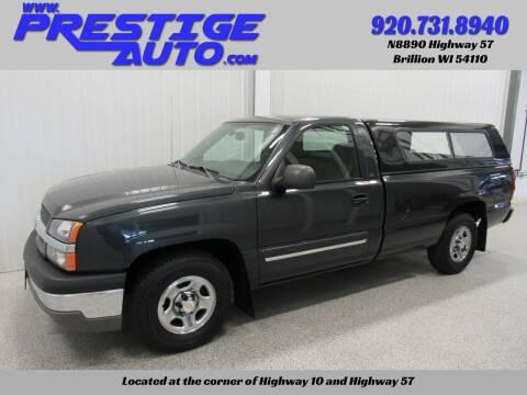 2004 Chevrolet Silverado 1500 for sale at Prestige Auto Sales in Brillion WI