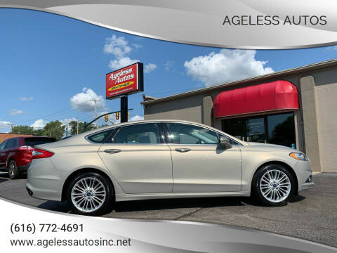 2016 Ford Fusion for sale at Ageless Autos in Zeeland MI