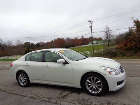 2007 Infiniti G35 for sale at Car Depot Auto Sales Inc in Seymour TN