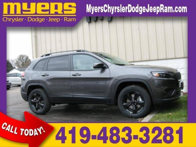 2020 Jeep Cherokee for sale in Bellevue, OH