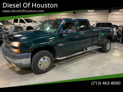 2005 Chevrolet Silverado 3500 for sale at Diesel Of Houston in Houston TX