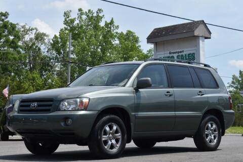 2007 Toyota Highlander for sale at GREENPORT AUTO in Hudson NY