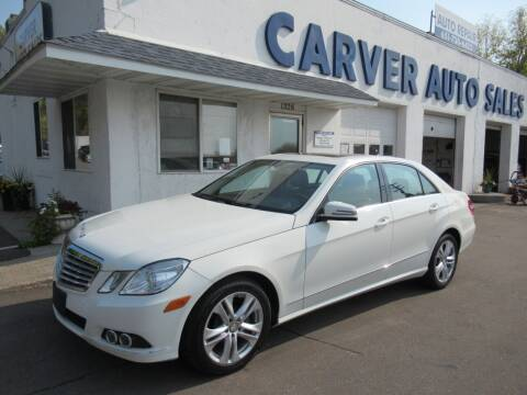 2010 Mercedes-Benz E-Class for sale at Carver Auto Sales in Saint Paul MN
