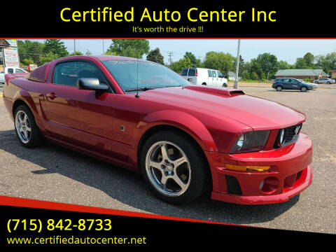 2007 Ford Mustang for sale at Certified Auto Center Inc in Wausau WI