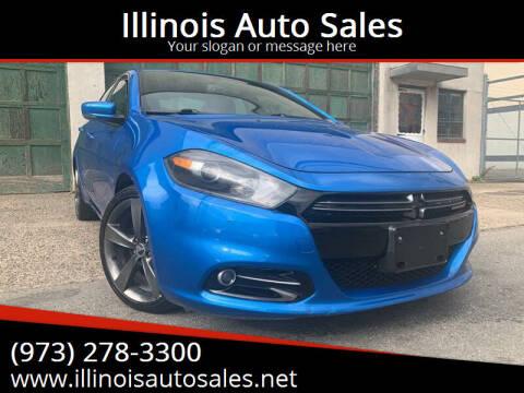 2015 Dodge Dart for sale at Illinois Auto Sales in Paterson NJ