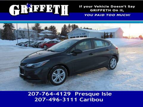 2018 Chevrolet Cruze for sale at Griffeth Mitsubishi - Pre-owned in Caribou ME