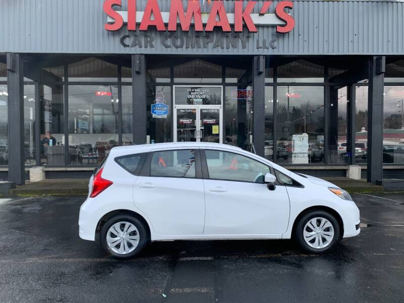 2019 Nissan Versa Note for sale at Siamak's Car Company llc in Salem OR
