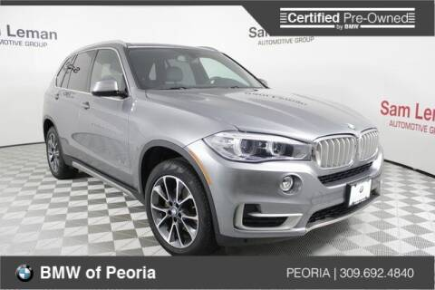 2018 BMW X5 for sale at BMW of Peoria in Peoria IL