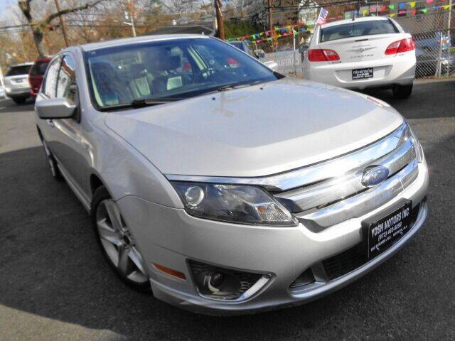 2010 Ford Fusion for sale at Yosh Motors in Newark NJ