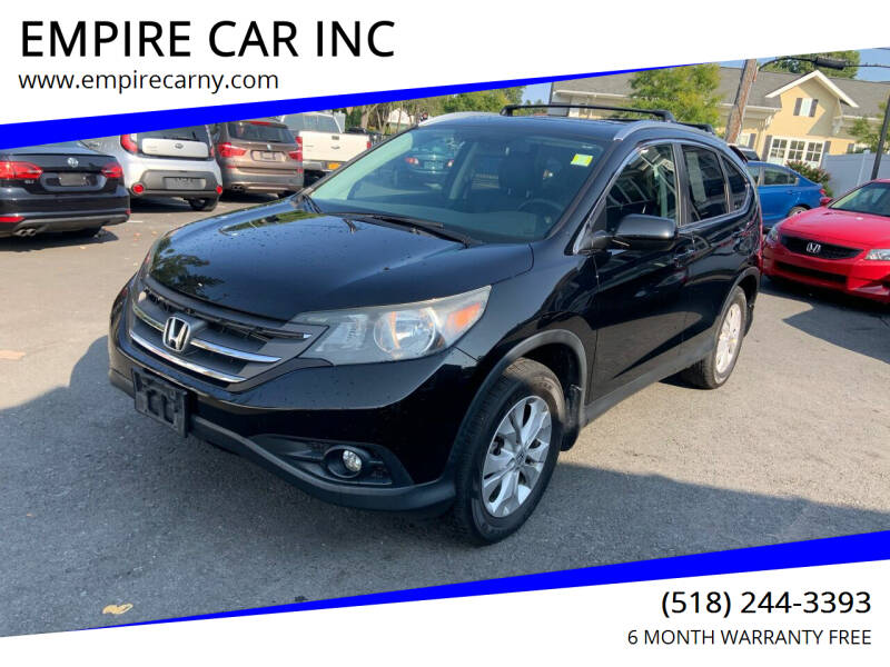 2012 Honda CR-V for sale at EMPIRE CAR INC in Troy NY