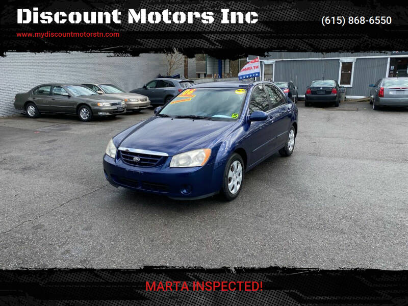 2006 Kia Spectra for sale at Discount Motors Inc in Madison TN