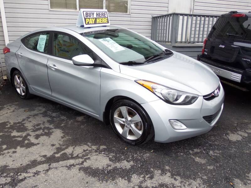 2013 Hyundai Elantra for sale at Fulmer Auto Cycle Sales - Fulmer Auto Sales in Easton PA