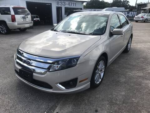 2010 Ford Fusion for sale at AMERICAN AUTO COMPANY in Beaumont TX
