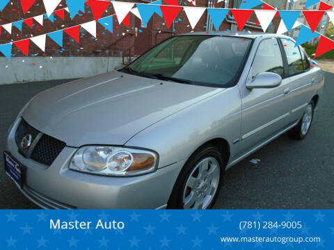 2006 Nissan Sentra for sale at Master Auto in Revere MA