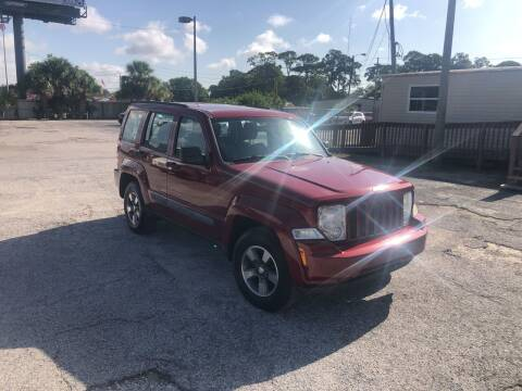 2008 Jeep Liberty for sale at Friendly Finance Auto Sales in Port Richey FL