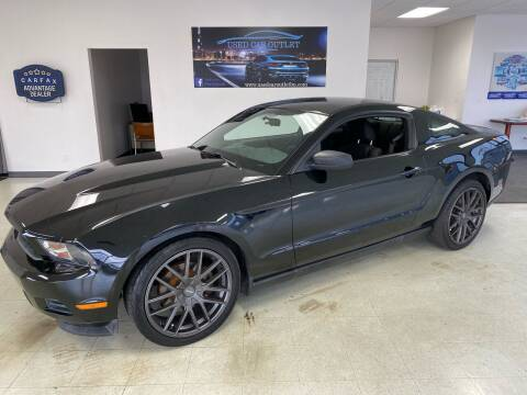 2011 Ford Mustang for sale at Used Car Outlet in Bloomington IL