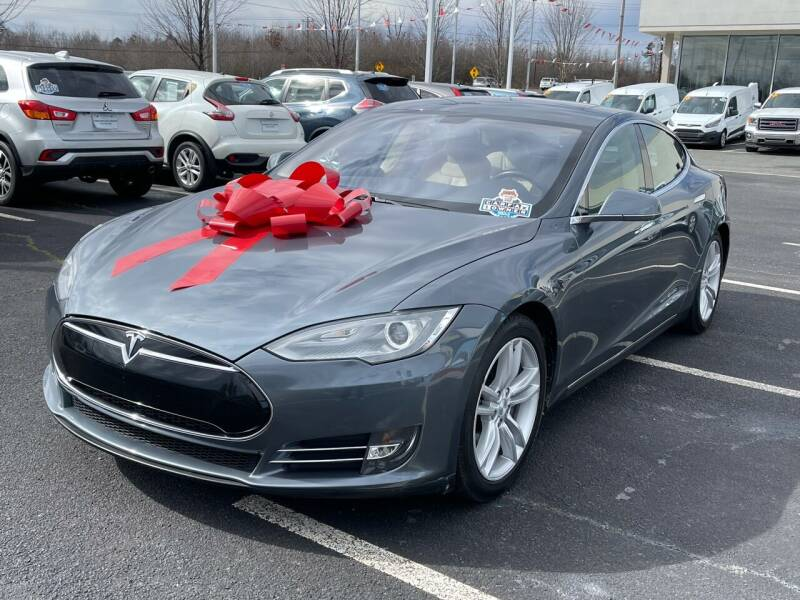 2013 Tesla Model S for sale at Charlotte Auto Group, Inc in Monroe NC
