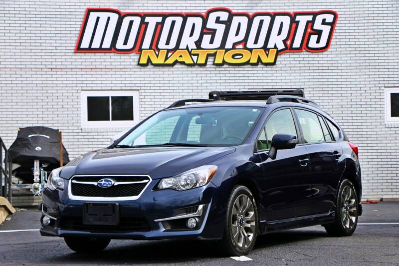 2016 Subaru Impreza for sale at Motorsports Nation Auto Sales in Plainfield CT