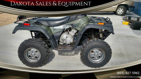 2002 Arctic Cat 400I for sale at Dakota Sales & Equipment in Arlington SD