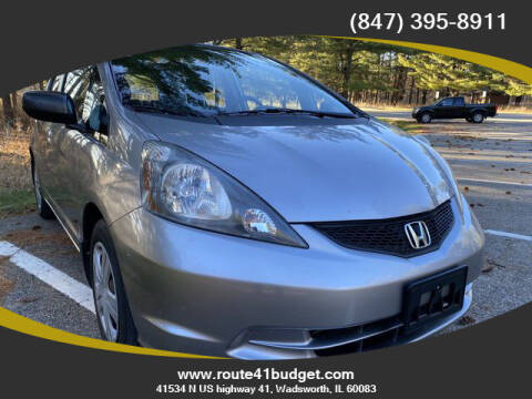 2009 Honda Fit for sale at Route 41 Budget Auto in Wadsworth IL
