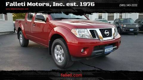 2012 Nissan Frontier for sale at Falleti Motors, Inc.  est. 1976 in Batavia NY