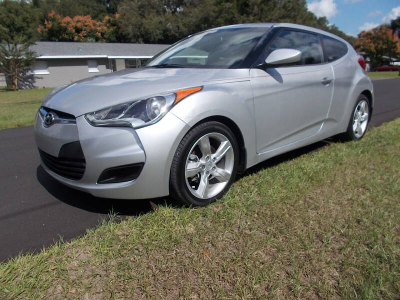 2013 Hyundai Veloster for sale at LANCASTER'S AUTO SALES INC in Fruitland Park FL