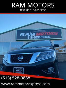 2013 Nissan Pathfinder for sale at RAM MOTORS in Cincinnati OH