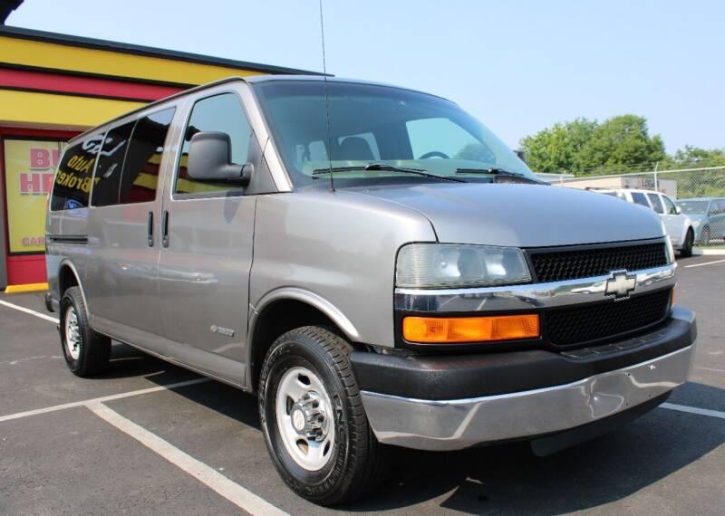 2006 Chevrolet Express Passenger for sale at L & S AUTO BROKERS in Fredericksburg VA