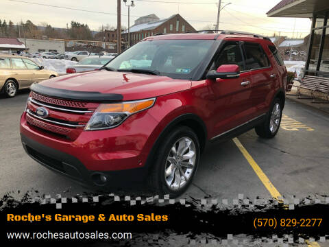 2012 Ford Explorer for sale at Roche's Garage & Auto Sales in Wilkes-Barre PA
