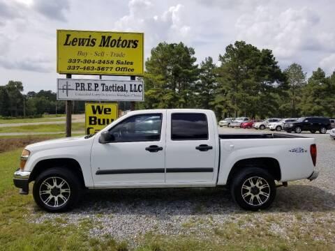 2006 Chevrolet Colorado for sale at Lewis Motors LLC in Deridder LA