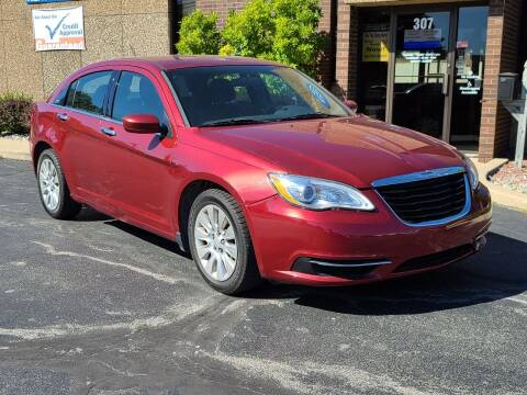 2014 Chrysler 200 for sale at Mighty Motors in Adrian MI