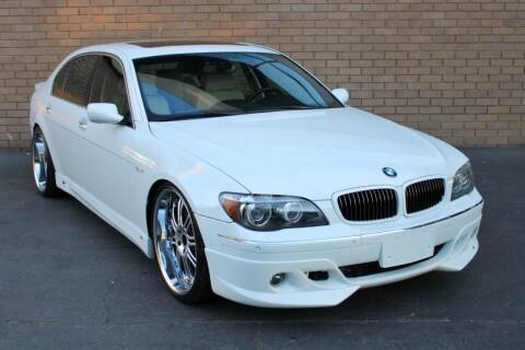 2007 BMW 7 Series for sale at MK Motors in Sacramento CA