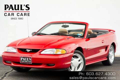 1995 Ford Mustang for sale at Paul's Car Care in Manchester NH