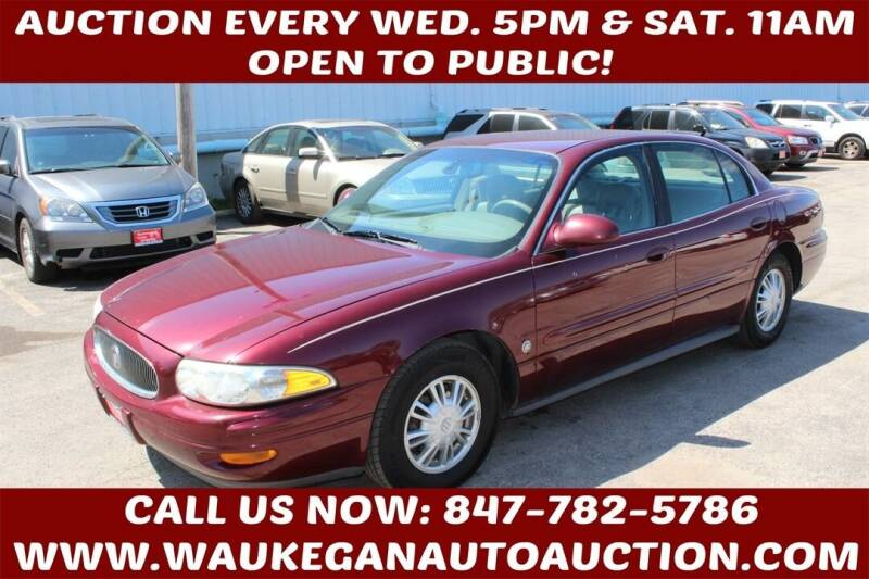 2002 Buick LeSabre for sale at Waukegan Auto Auction in Waukegan IL