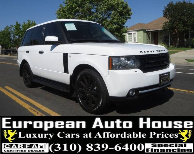 2011 Land Rover Range Rover for sale at European Auto House in Los Angeles CA