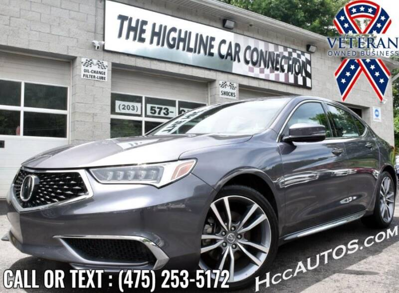 2020 Acura TLX for sale at The Highline Car Connection in Waterbury CT
