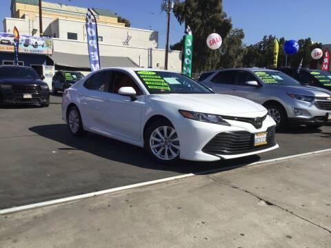 2018 Toyota Camry for sale at LA PLAYITA AUTO SALES INC - 3271 E. Firestone Blvd Lot in South Gate CA