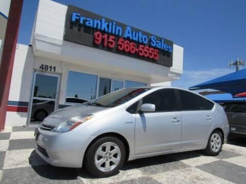 2008 Toyota Prius for sale at Franklin Auto Sales in El Paso TX