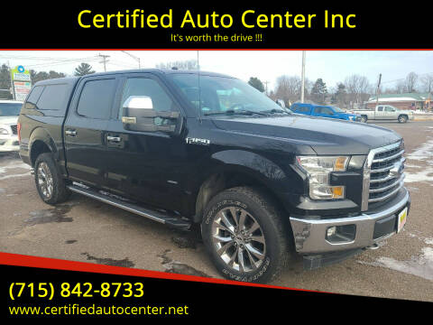 2017 Ford F-150 for sale at Certified Auto Center Inc in Wausau WI