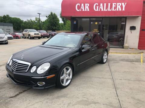 2009 Mercedes-Benz E-Class for sale at Car Gallery in Oklahoma City OK