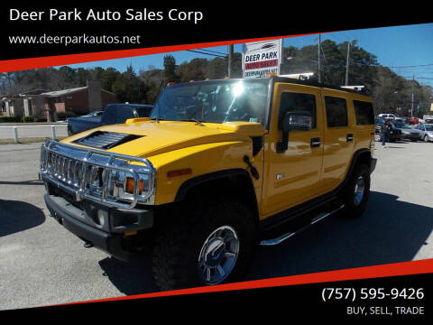 2005 HUMMER H2 for sale at Deer Park Auto Sales Corp in Newport News VA