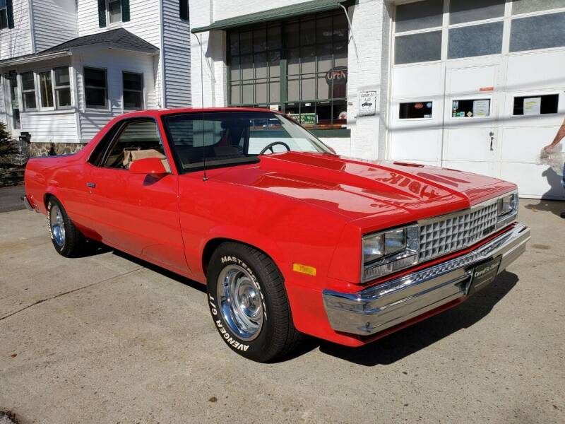 1987 Chevrolet El Camino for sale at Carroll Street Auto in Manchester NH