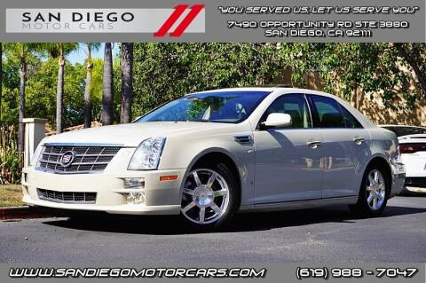 2010 Cadillac STS for sale at San Diego Motor Cars LLC in San Diego CA