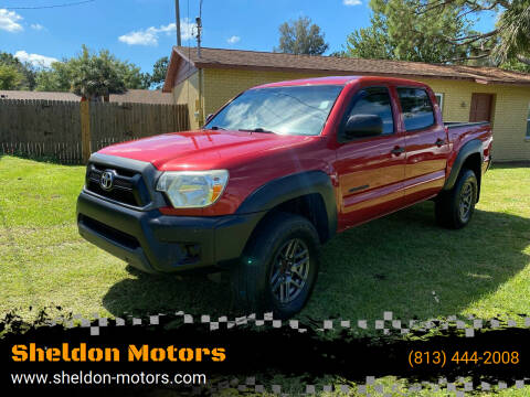 2015 Toyota Tacoma for sale at Sheldon Motors in Tampa FL