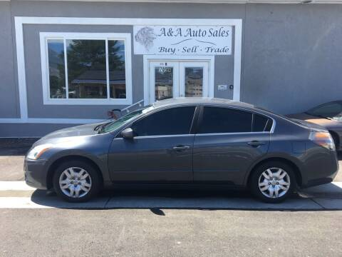 2012 Nissan Altima for sale at A&A Auto Sales in Orem UT