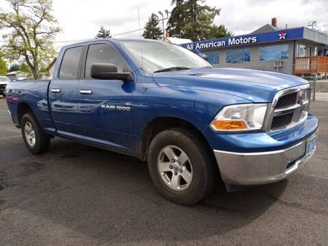 2011 RAM Ram Pickup 1500 for sale at All American Motors in Tacoma WA